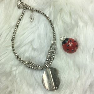"""Chico, statement necklace, NWOT. 18-21"""""""